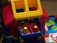 A selection of good condition toys for young children.