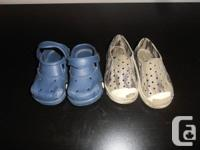 I have 3 pairs of little boy shoes for sale.  The gap