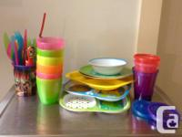 Everything you need to feed your toddler(s). Cups,