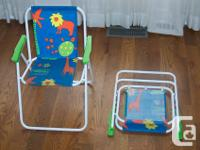 These lawn chairs are in excellent condition. They have