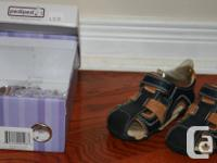 1) Sandals - Pediped - Size 7 - Good Condition = $20
