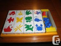 Puzzle Blocks -6 Activities.  Piano with 3 tunes.