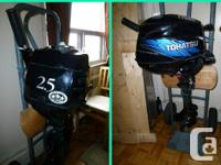 Nice little outboard for dinghy or tender, - electronic
