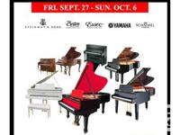 Piano Factory Selection Sale event starting this