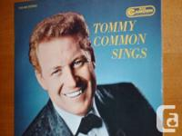 Tommy Common Sings - Vinyl LP. 10 tracks. RCA Camden. A