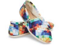 TOMS Classic Alpargata design Women's Size 8 slip-on