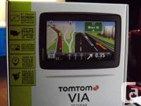 Purchased 2 months ago but never used TOMTOM  VIA