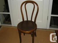 I have set of beautiful Tonet antique chairs in