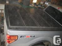 Hard Folding Tonneau Cover for FORD F150, 6.5'