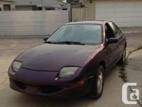 Make Pontiac Model Sunfire Year 1997 Colour Purple kms