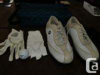 Size 7 ladies Top Flite golf shoes hardly worn, 2 for sale  British Columbia