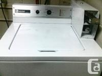LOOKS LIKE NEW!!! TOP LOADER COIN OPERATED WASHING