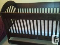 Terrific Morigeau-Lepine baby crib in excellent