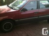 hi dear  i have 1988 topaz mercury for sale its in good