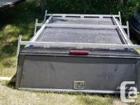 ARE aluminum Topper with side bins, heavy duty roof