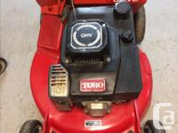 """Toro GTS Self-Propelled 21"""" Lawn Mower With Bagger,"""