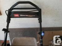 Toro Lawnmower. 22 inch 6.5 HP Starts and runs great.