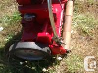 Excellent condition refurbished motor,new wooden