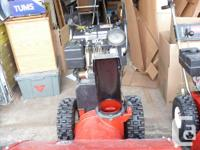 We have 2 Toro Snowblowers for sale. one is a Toro