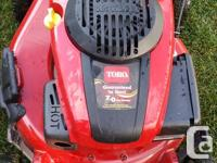 Toro SR4 self propelled lawn mower for sale, Not used