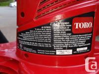 Toro Ultra Electric 12 Amp Blower/Vacuum/ Mulcher Very