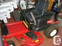 Toro Z5060 Zturn mower with hitch. Has approx 400 hrs