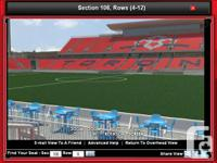 Toronto Football Club TFC tickets x2 available: