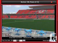 Toronto Football Club TFC tickets x2 available:
