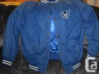 Leafs spring season jacket in outstanding problem,