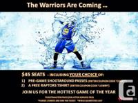 Toronto Raptors vs Golden State Warriors Tickets Sunday