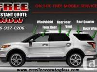Auto glass windshield repairs & replacements  WINTER