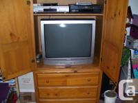 "Like-new problem Toshiba 26"" TELEVISION with remote & &"