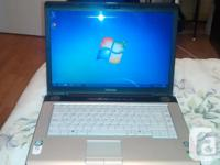 I am offering my tosbiba laptop 15.6 inch display that