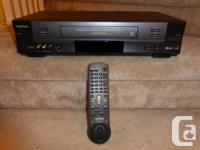 This item is a Toshiba Hi-Fi Stereo VCR (4-head),