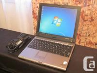 Toshiba Portege M400 laptop PC for sale.   Good working