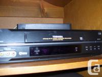 Excellent disorder VCR with remote & & manual. $30.0.