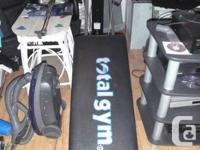 For Sale: Total Gym, slightly used, in excellent