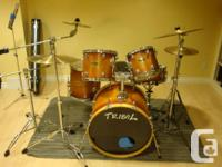 This is a taping quality maple 'Tribal' 5 item kit in