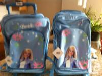 Two brand new trolley bags for the elementary school