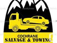 Cochrane Towing Ltd.  We will certainly pay you $HALF -
