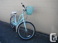 We currently have a Townie 7D cruiser bike on