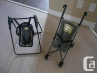 Graco: Toy Stroller and baby swing with detachable baby