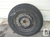 I have 4 Toyo winter tires on rims. The tire size is