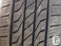 4 Toyo All Season tires, have only done 1 summer