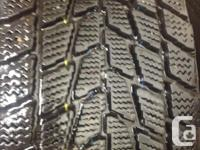 I am selling 4 Toyo Observe Go2 Plus tires. They are