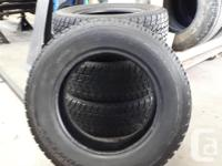 Set of 4 Winter Tires TOYO OPEN COUNTRY G-02 PLUS