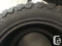 4 Toyo Open Country MT, 33x12.5x20. Great Off Road
