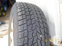 235/70R16 Snow tires by Toyo- Open Country series Set