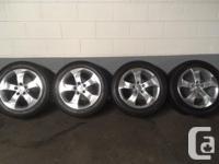 Toyo Winter Tires on Honda (Original) Alloy Wheels.