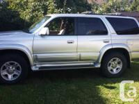 2000 Toyota 4runner limited , tan leather interior ,